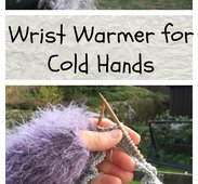 A wrist warmer for cold hands