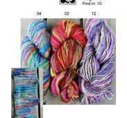 Kinna textil:s Handwool  Handpaints